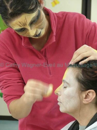 copyright Cathy Wagner Eveil au maquillage® 638