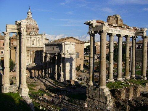 Foros Traiano e Augusto 2