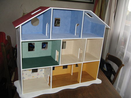 les photos de la maison playmobil le nuancier de marie. Black Bedroom Furniture Sets. Home Design Ideas