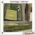 Protege cahier couture tuto