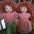 Vous voulez apprendre à faire des poupées tracas ?