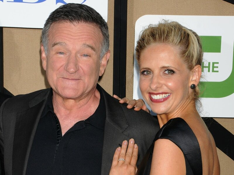 Sarah Michelle Gellar et Robin Williams photo promo