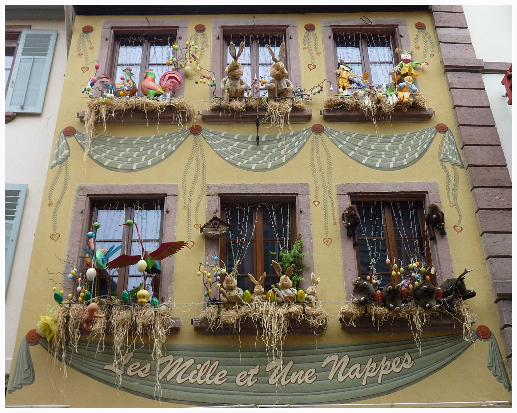 Weekend en alsace le jardin par passion for Decoration fenetre en papier