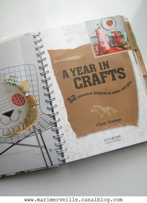 A year in crafts présentation