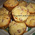 Muffins au jambon et au Kiri
