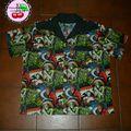 Commande de sylvain: chemise homme tissu universal monsters