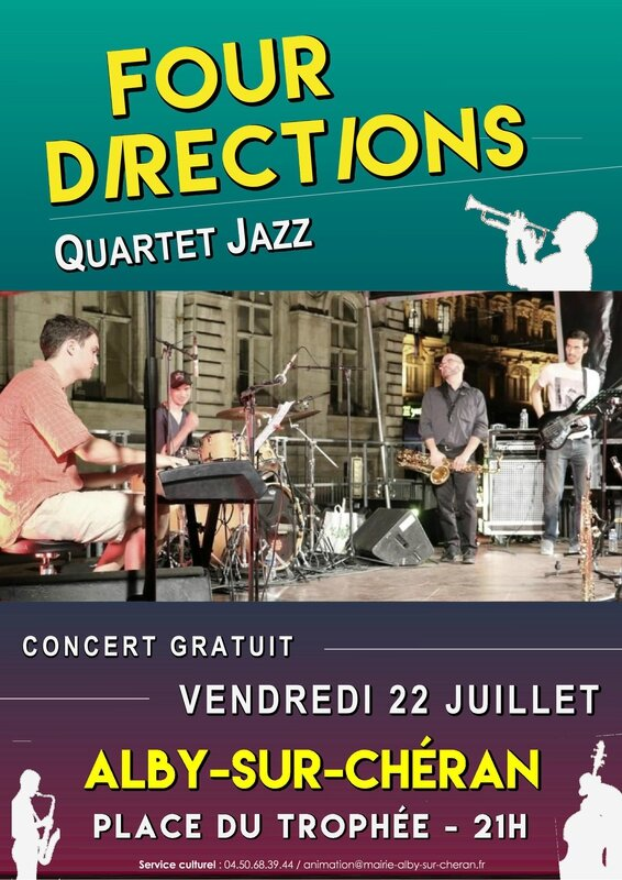 Affiche four directions 22 07 2016
