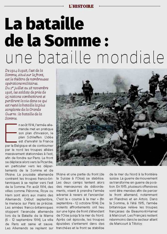 somme bataille mondiale