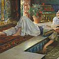Oriental fascination in german art auction: €30.000 for two harem ladies