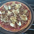 Pizza express thon-artichauts