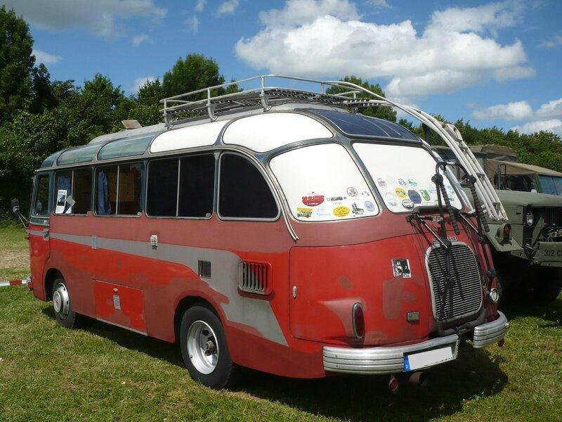 SETRA S6 Panoramabus camping car 1960 Eutingen (2)