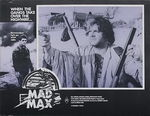 Mad Max lobby card australienne 1