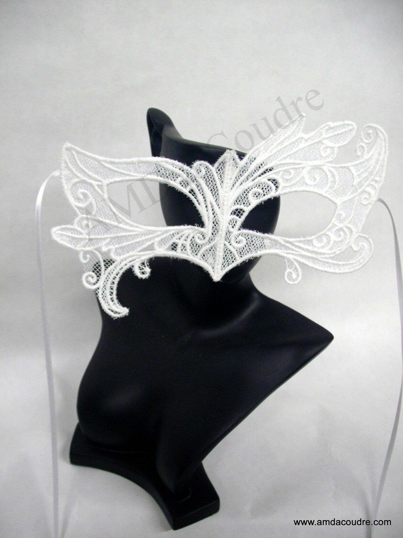 masque vénitien broderie, dentelle, lace amd a coudre (4)