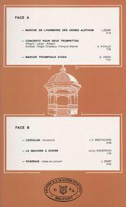Disque Harmonie Alsthom 1885-1985 4