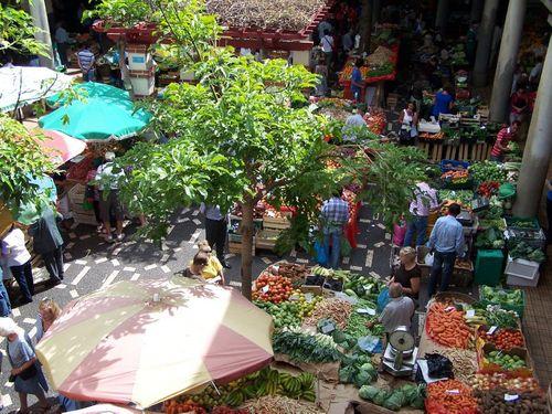 Marché aux fruits de Funchal