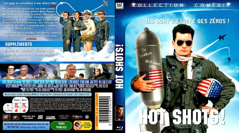 Jaquette HOT SHOTS ! ( 1991 )