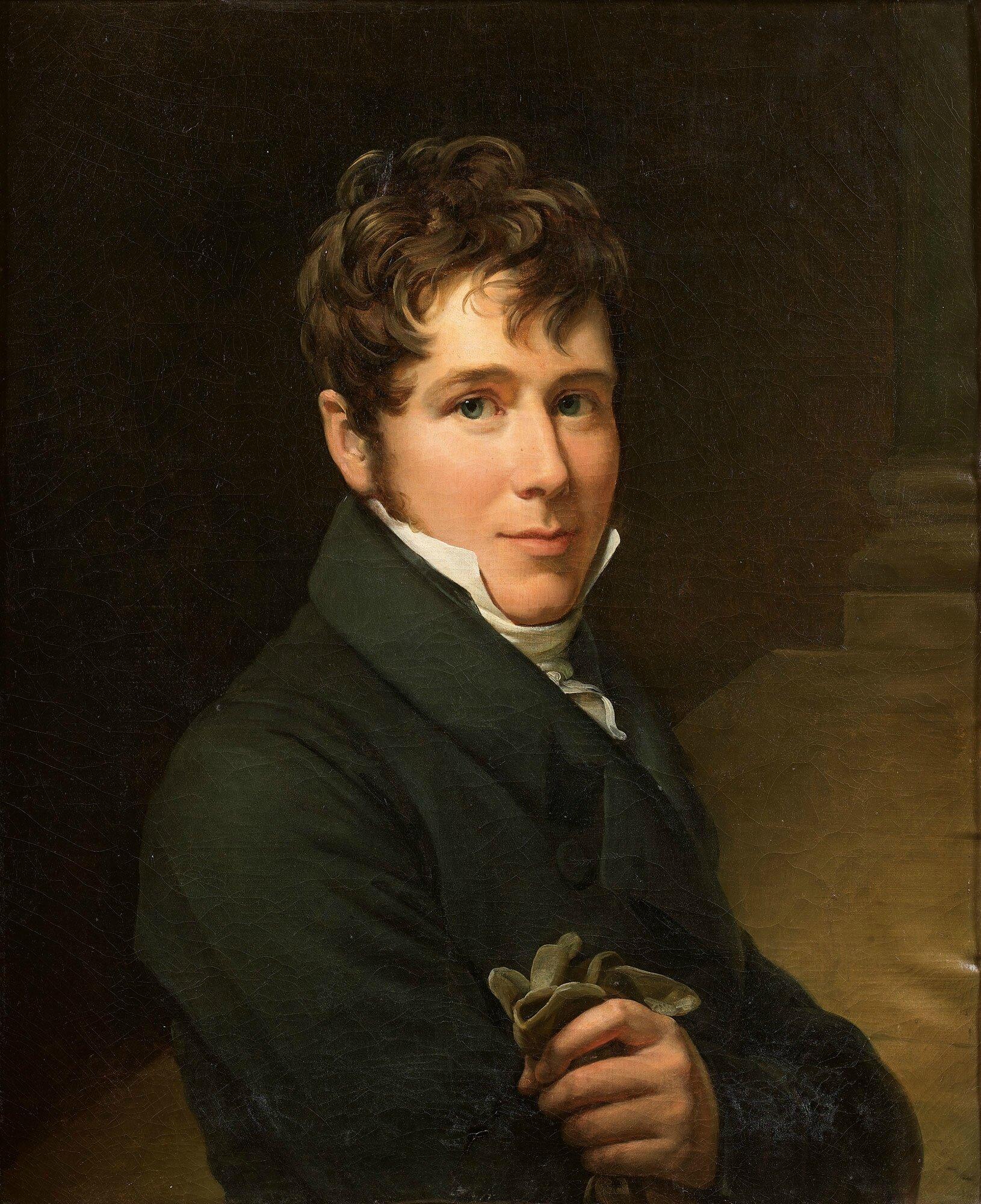 François Gérard, dit Baron Gérard (Rome 1770-, Portrait de Charles- Just- François Victurnien, 4è prince de Beauvau (1793-1864)