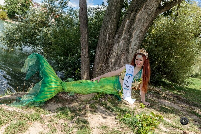 A Bry-sur-marne (ville d'origine de Miss Mermaid France 2017), Crédit photo : Edouard Turpin photographe