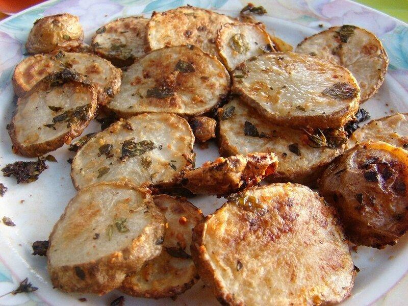 patate au four origan et thym frais