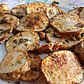 Patates au four avec origan et thym frais