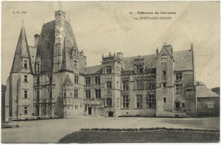14 - FONTAINE-HENRY - Le chateau