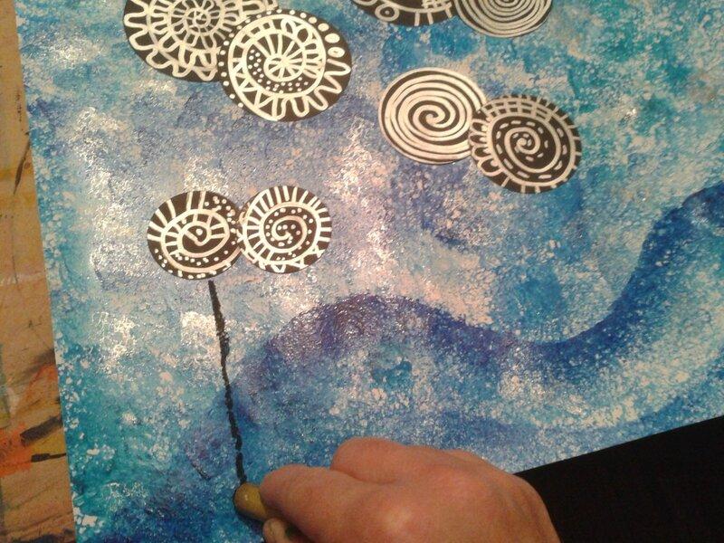 147_Arbres_ Lollipop trees à la manière de Hundertwasser (34)