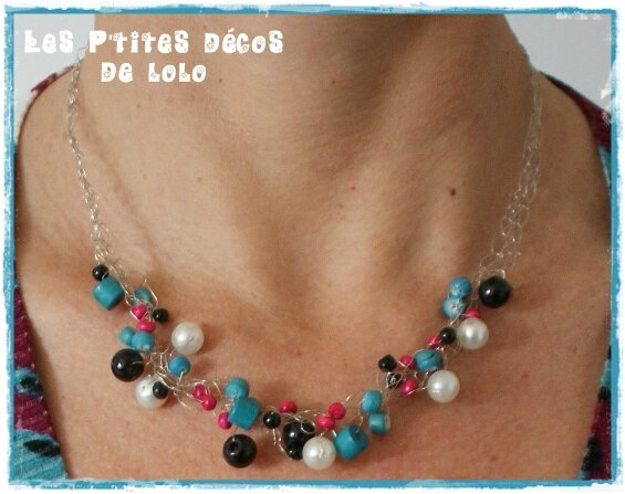 DIY bijoux : faire un collier au crochet