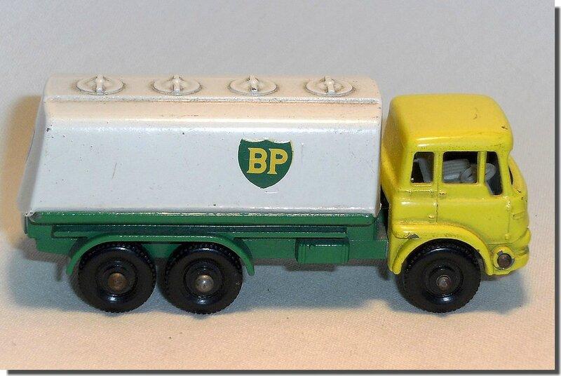 25 C Lesney Matchbox Bedford BP Tanker A 5