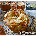 Muffins amandes & raisins secs...