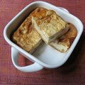 Clafoutis de pommes au brie noir