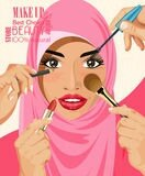 many-hands-cosmetics-brush-doing-make-up-glamour-arab-women-hijab-portrait-happy-modern-arabic-woman-60484344