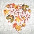 Coeur d'automne (Isabelle Vautier / Savoir faire Vailly)
