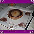 Tartelettes gourmandes nutella & poires