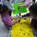 Fabrication du tissu africain