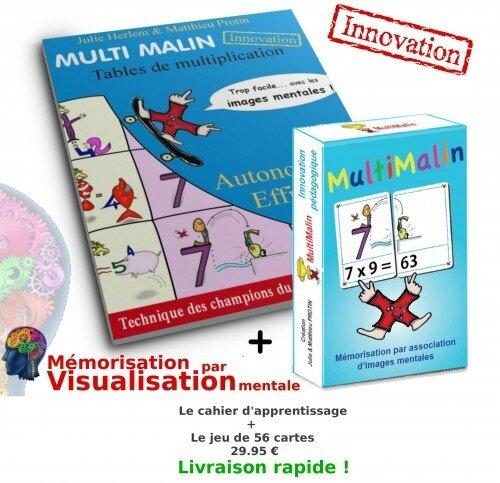 Une m thode maline pour retenir les tables de - Jeu pour apprendre les tables de multiplication ...