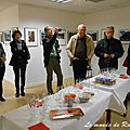 Photoreporter le off vernissage pour les exposants du club oisb