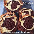 Cake marbré façon savane de papy brossard