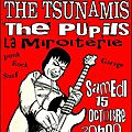 ♪ 2sisters + the tsunamis + the pupils - 15/10/11 ♪