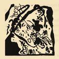 Improvisation 24_Wassily Kandinsky_Gravure sur bois 1912