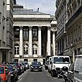 PARIS 02ème BOURSE