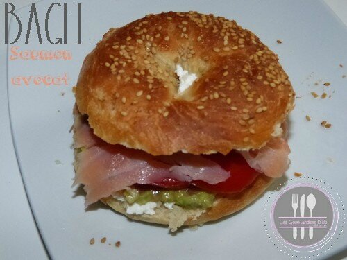 Bagel au saumon & avocat
