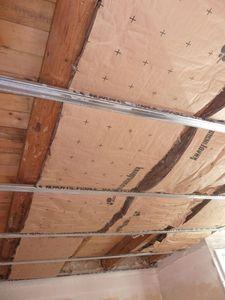 R novation de ma maison mes jumeaux et moi le for Pose de plaque polystyrene au plafond
