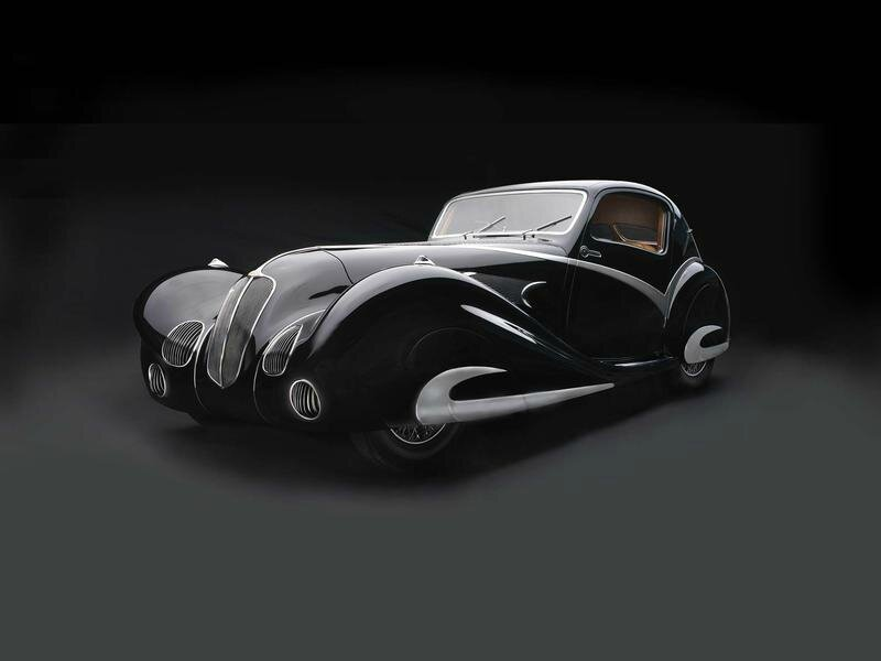 Sculpted in Steel: Art Deco Automobiles and Motorcycles, 1929–1940 at Museum of Fine Arts, Houston