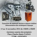 L'exposition de guignes du 14 au 16 novembre 2014