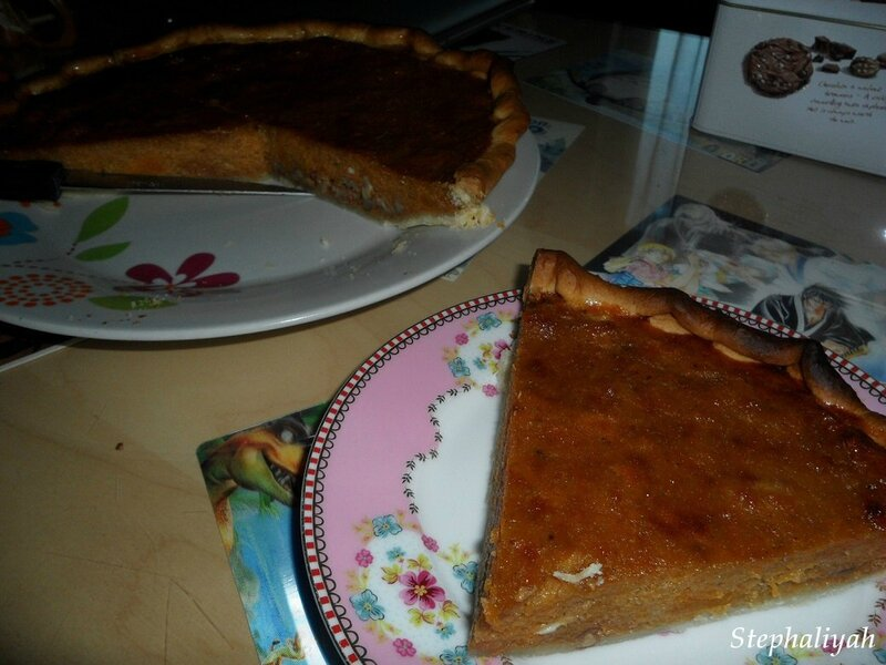 Pumpkin pie - 4