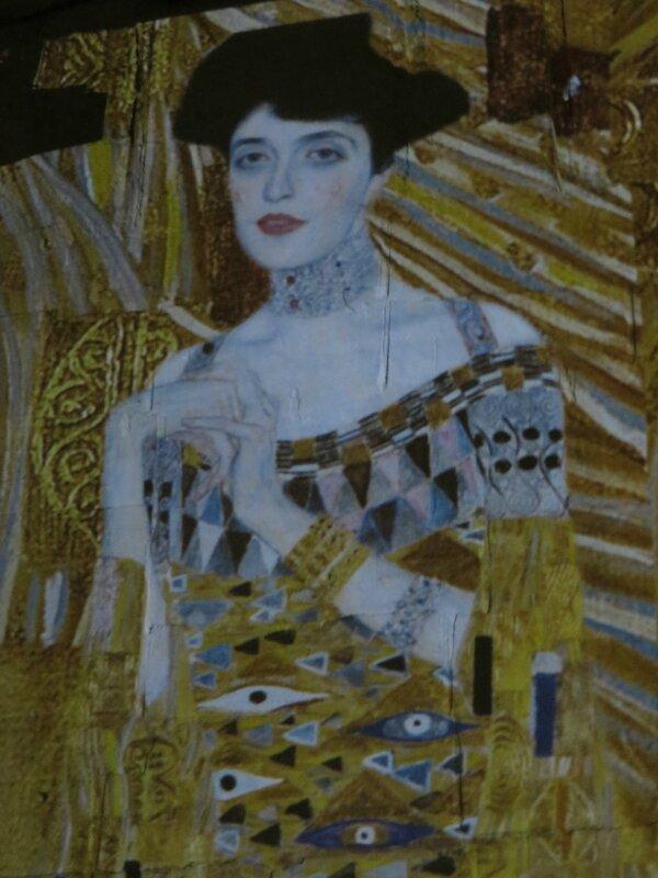 Portrait d'Adèle Bloch-Bauer - 1907 Klimt Exposition