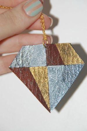 Diamant en cuir 1