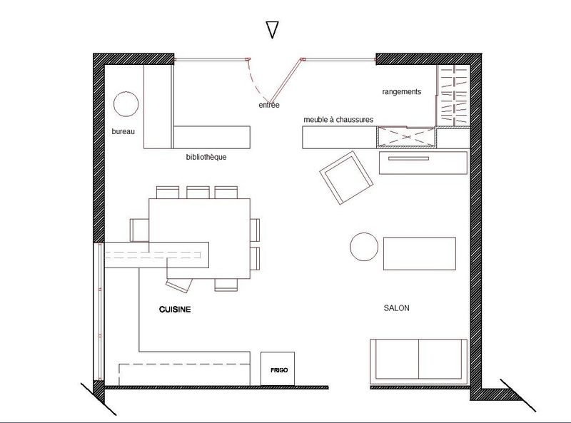 Plan d 39 am nagement photo de agencer et r organiser une - Logiciel d amenagement d interieur ...