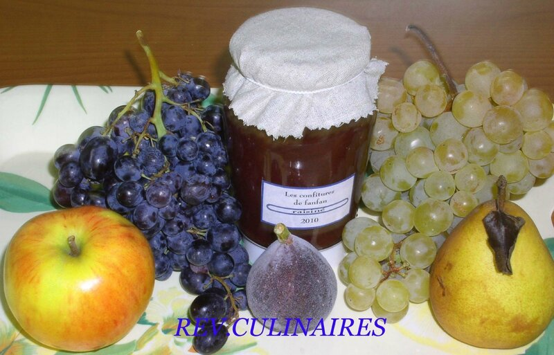 confiture de raisiné
