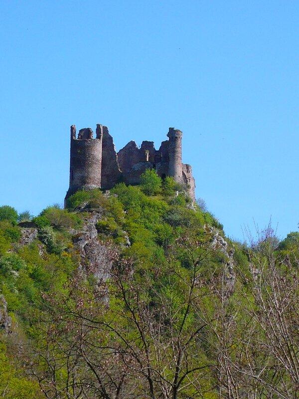 Le château rocher de Saint Rémy de Blot